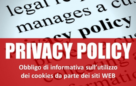 PRIVACY SITO WEB